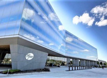 輝瑞藥廠在聖路易郊區Chesterfield市的研發中心