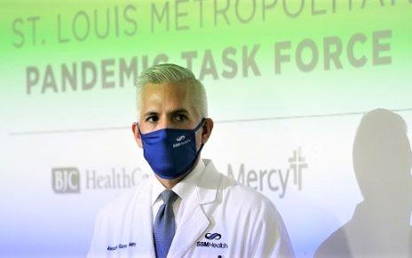 聖路易地區疫情專案組組長Alex Garza醫師