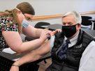 Parson州長接種第二劑輝瑞疫苗
