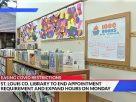 聖路易郡圖書館延長開放時間 不再需要預約