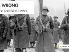 歷史的經驗和教訓<br>「糾正錯誤: 日裔美國人和二戰」特展