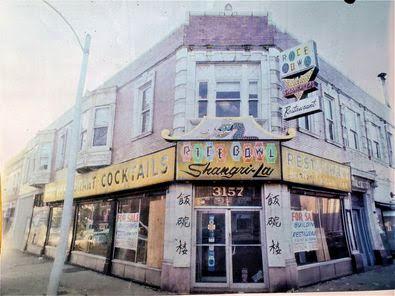 圣路易50年代中期在South Broadway路上的一家中餐厅'饭碗楼'