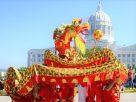 腰鼓舞、中國龍 密蘇里州200歲華誕獻禮